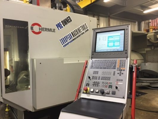 Hermle C600U and C30 U fully 5 Axis in Stock EMT Hartlant Wisconsin